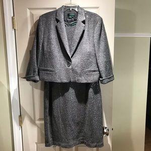 Ralph Lauren dress w/matching Blazer